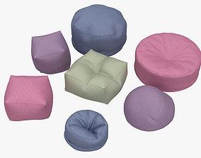 3D Bean Bag Chair home