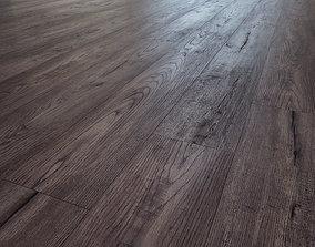 Barcelona wooden oak flooring 3D