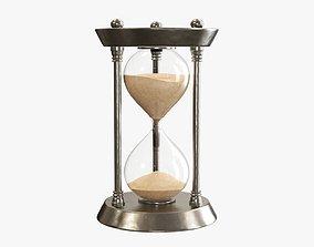 3D Hourglass sandglass egg sand timer clock 05