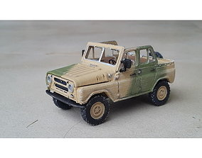 UAZ469 - SCALE MODEL - ASSEMBLY KIT 3dprinting