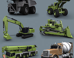 Mighty Mining Pack - 3d animated construction animated 1