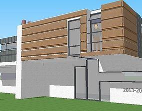 3D print model Modern House