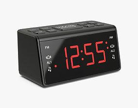3D Alarm Clock 08