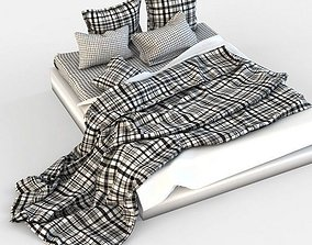 Double Bed Bed Linen in a box 3D model