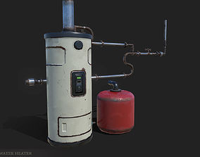 WaterHeater 3D model