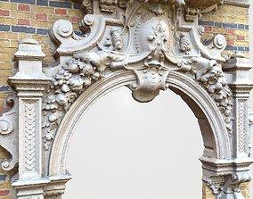 3D asset Door Decoration