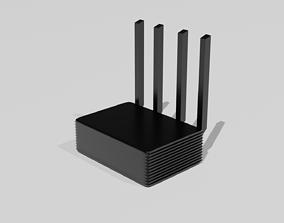 3D model Xiaomi Mi Router Pro