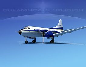 3D Martin 404 Southern Airways 1