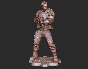 Del Walker COG Gears of War 3D Model STL File 3D Print