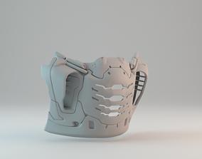 COVID-19 Doom Slayer Doom Eternal Medical 3D print model