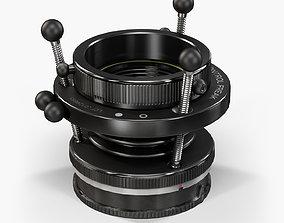Lensbaby Control Freak lens 3D model