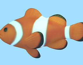 3D model Clownfish Rigged
