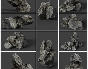 3D Rock Collection 006