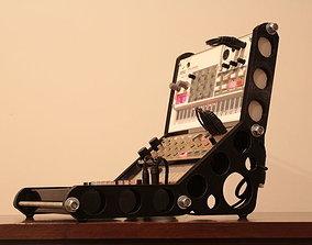 3D print model Rack f 3x KORG Volca units