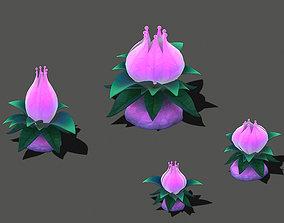 3D Cartoon sky city - Tianshan snow lotus