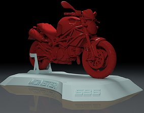 printing DUCATI MONSTER 696 MOTORCYCLE FOR 3D PRINTING