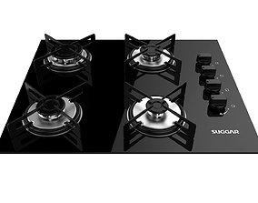 3D Cooktop Suggar 4 Burners FG4004VP