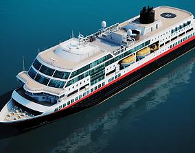 3D model Arctic Cruiseship - Cruiseferry