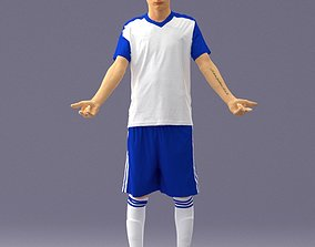 Soccer player 1114-1 3D Print Ready
