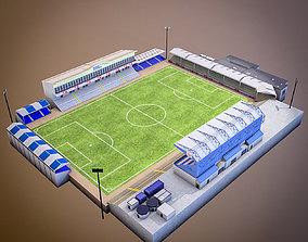 Memorial Stadium 3D model realtime