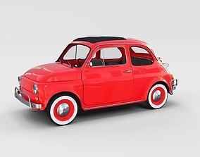 Fiat 500L Luxe 1968 rev 3D