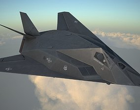 lockhed Lockheed F-117A Nighthawk 3D model