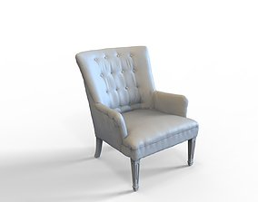 Tufted Chair 3D Scan