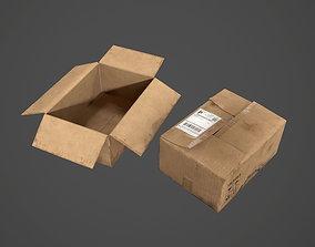3D model Carboard Box