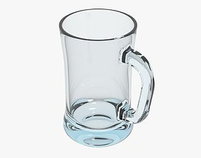 3D model realtime Glass Mug
