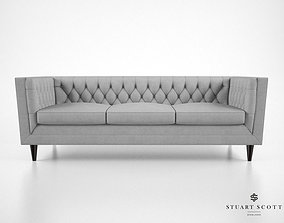 3D model Stuart Scott The Tux Lux Sofa