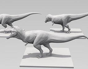 3D printable model T Rex High Quality three poses