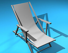 Deck chair 3D garden-furniture