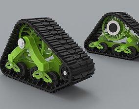 Mattracks Suspension tracks 3D model
