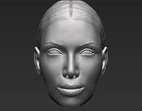 3D Kim Kardashian standard version only mesh
