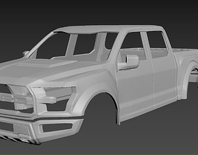 Ford F-150 Raptor hobby-diy 3D print model