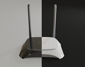 3D model WiFi Router TP-Link