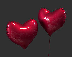 Balloon Heart 3D model