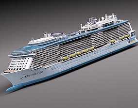 Quantum Of The Seas Cruise Ship 3D model