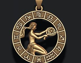 Zodiac Virgo lite 3D print model