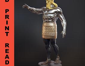 Daniel 2 Statue King Nebuchadnezzar 3D model