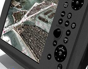Automatic Identification System AIS 3D model