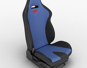 3D model Car Seat Sti