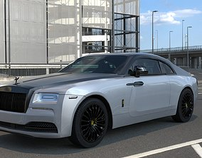 3D model Rolls Royce Wraith 2014