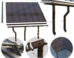 3D model Seam roof