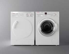 washing machine and dryer High quality 3D