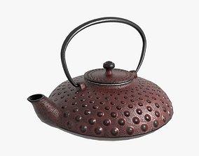 3D Cast iron teapot