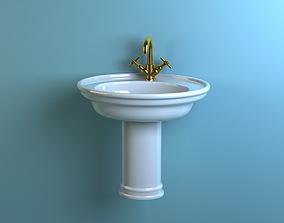 3D model villeroy Boch 7385 washstand