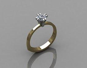 custume Ring 3D print model