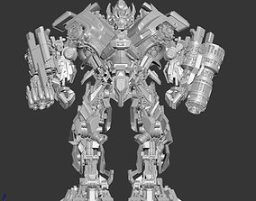 Transformers Ironhide DOTM 3D Max file animated