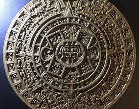 3D printable model Aztec Calendar Mold